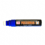 Blue Zig Posterman Wet Wipe Liquid Chalk Marker Broad 15mm Nib